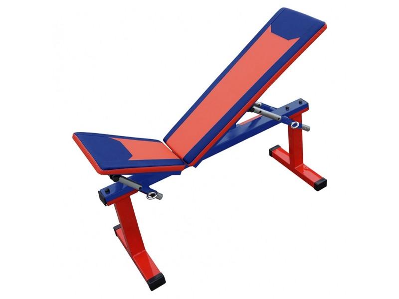 3fa4275c27a4 Скамья Формула Здоровья Дельта-01 многофункциональная красный-синий -  Купить спортивный инвентарь и тренажер